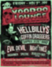 Coffin Draggers - Hellbillys Nov. 9 2018