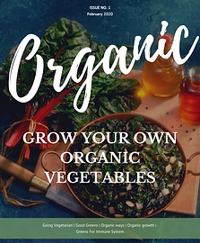 Organic vegetables eBook PLR