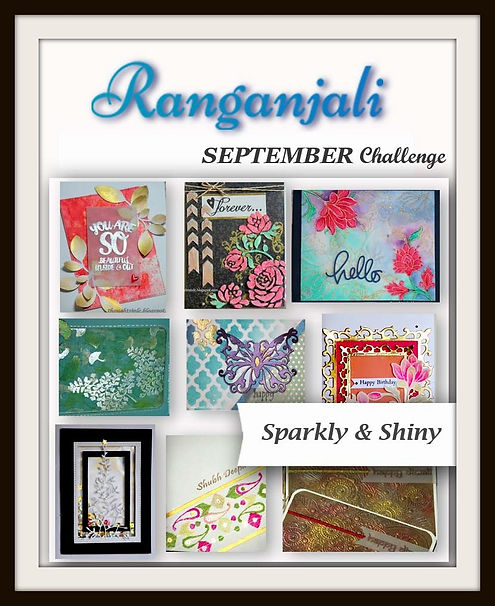"Ranganjali September Challenge ""Sparkly and shiny"""