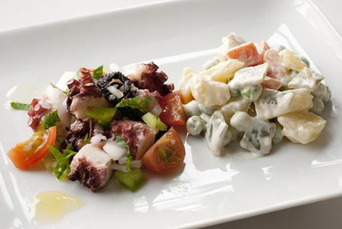 Salada de Polvo e Russa