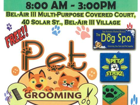 FREE PET GROOMING!