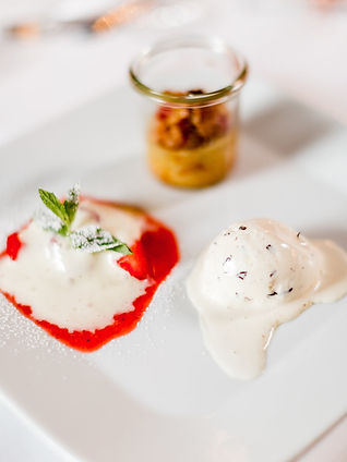 Hochzeit Dessert