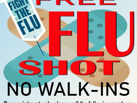 FREE FLU SHOT