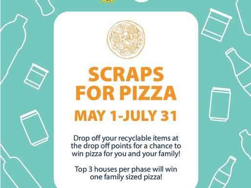 SCRAPS FOR PIZZA!