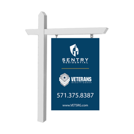Co-Branded Vertical Sign