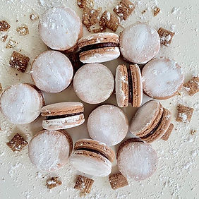 Introducing Puppy Chow Macarons availabl