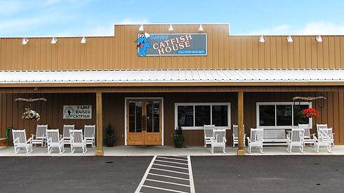 David's Catfish House restaurant Andalusia, AL seafood, steaks