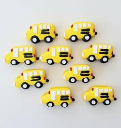 Cute Bus Macarons