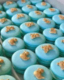 It's a boy!!! 👶💙Baby Shower Macarons w