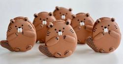 Beaver Macarons