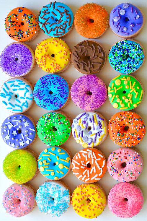Donut Macaron Box (10 macs)