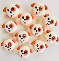 Cute Puppy Macarons