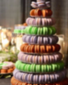 A macaron tower from Yesterday's lovely