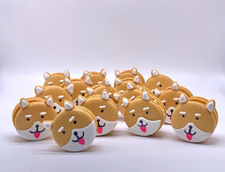 Shiba Inu Dog Macarons