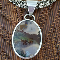 Margot Ryan - agate and sterling silver