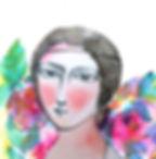 Clara-Schumann-Portrait-Blumen-Illustrat
