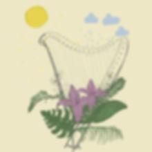 Harfe-Illustration-Elisa-Kuzio-Illustrat