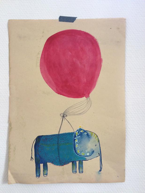Elefant-Illustration-Elisa-Kuzio-Illustration-Frankfurt am Main