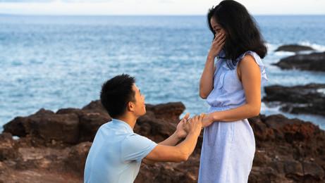 "She said ""Yes!"""