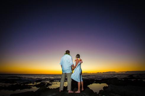 Kona Hawaii Sunset Weddings