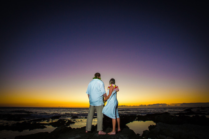 Kona Hawaii Sunset Weddings