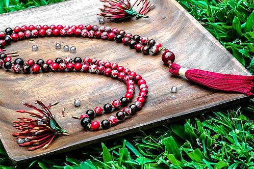 Root Chakra - Gemstone Mala