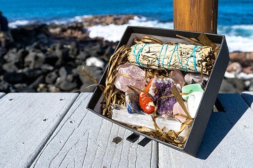 Reiki Infused Chakra Stone Gift Set