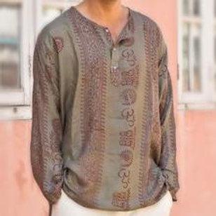 Men's Om Kurta Shirt