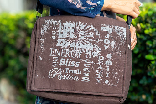 Good Vibes Messenger Bag