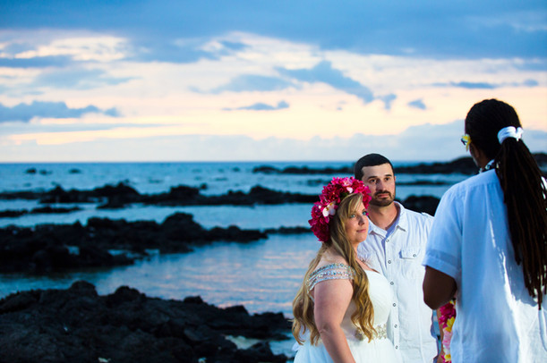 Kona Hawaii Wedding Photography