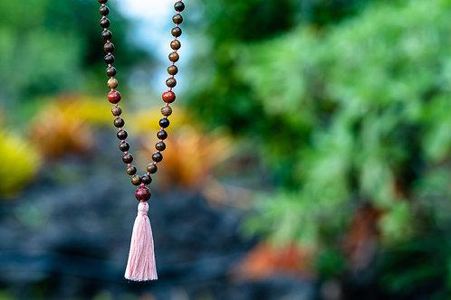 Gemstone Mala Necklace