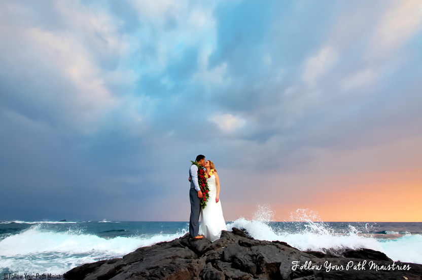 Kona Hawaii Wedding Photographer