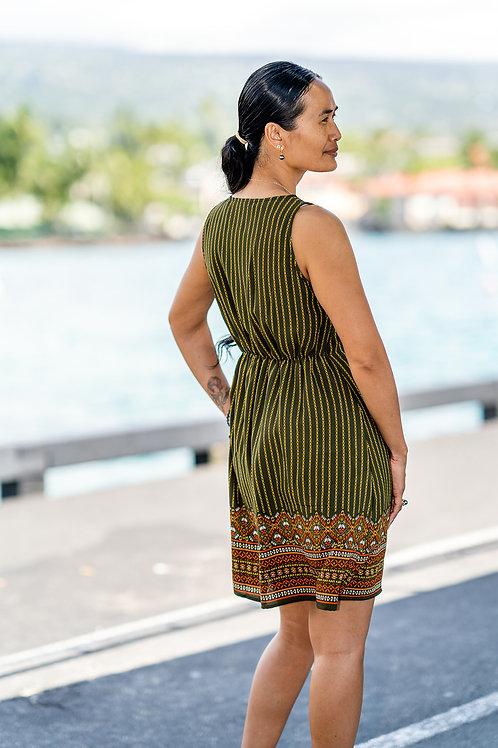 Boho Dress, Side/Rear View