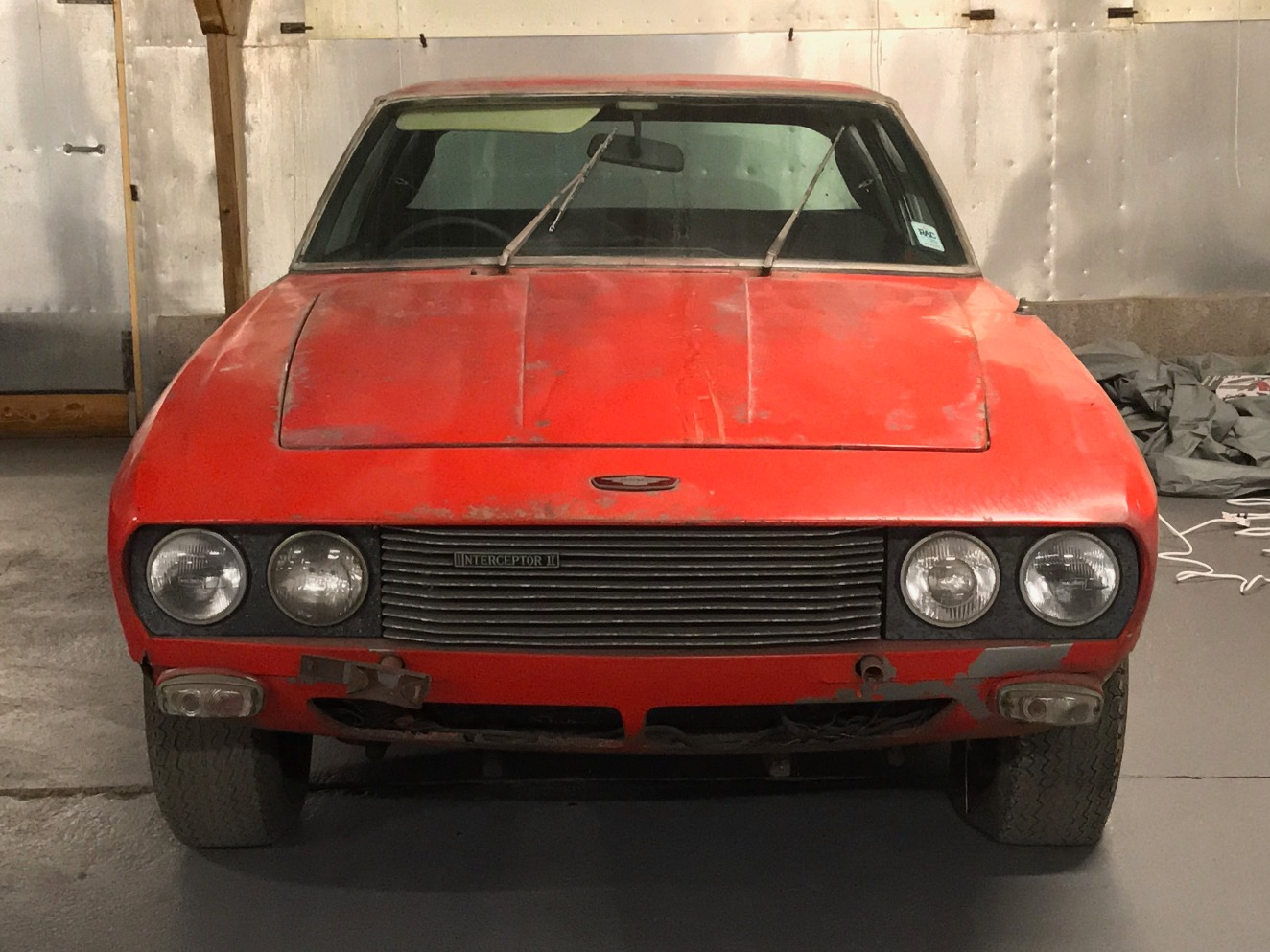 Jensen Interceptor Barn Find