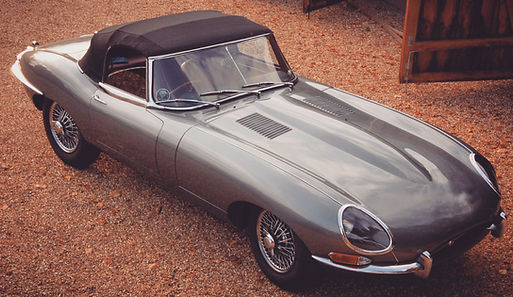 Jaguar E-Type Series 1 Roadster restoration