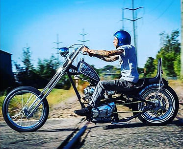 Photo by Ryan James Unger #xs650chopper
