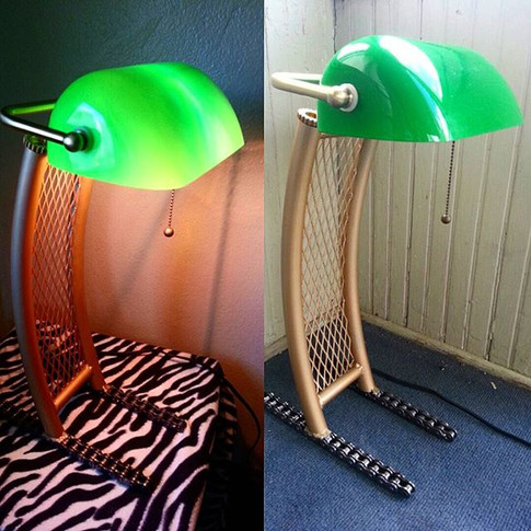 A lamp I made recently. Currently availa