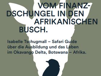 Live-Vortrag Rapperswil - Bücher Spatz EINFACH. vom Finanz-Dschungel in den afrikanischen Busch.
