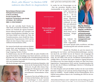 Zeitschrift «Empathische Zeit»: Attraktiver Ratgeber - Gelingend kommunizieren in Beruf und Alltag