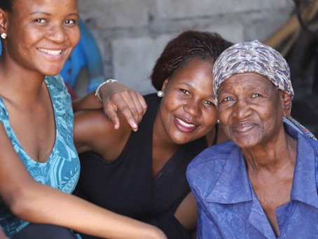 Alterspflege in Botswana während COVID-19