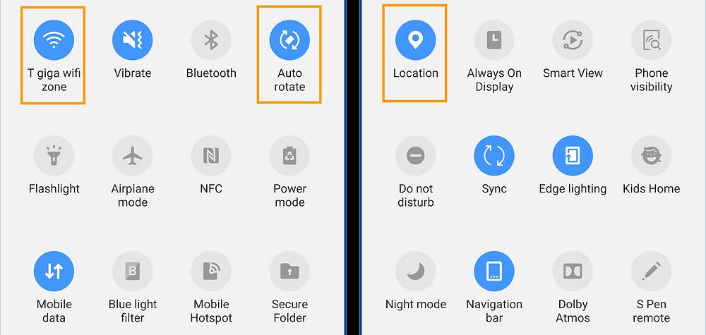 Home-screen phone settings - Controller app. 2/2 | GeoFamily