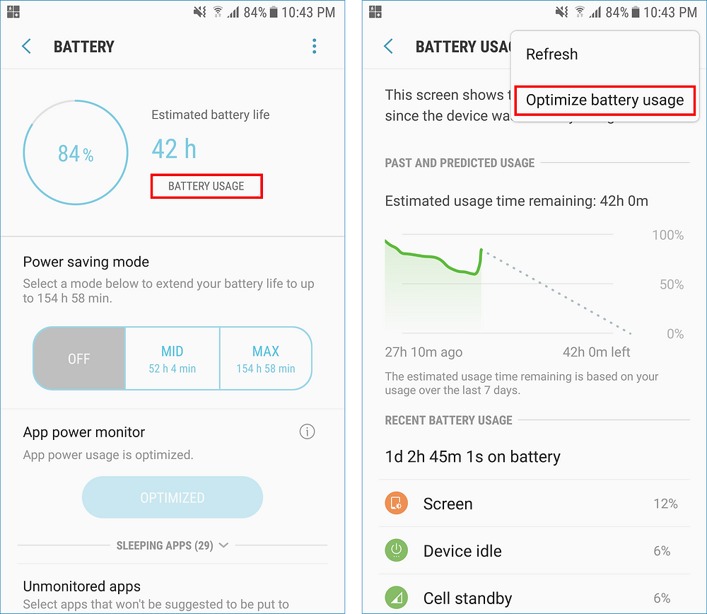 GeoFamily Tracker User App : Include the GeoFamily app in the battery usage 'Apps not optimized' list, - Screens 2