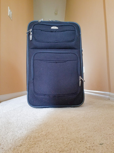 Suitcase vs Hiking Backpack