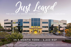 Just Leased - The Atrium at Bressi Ranch