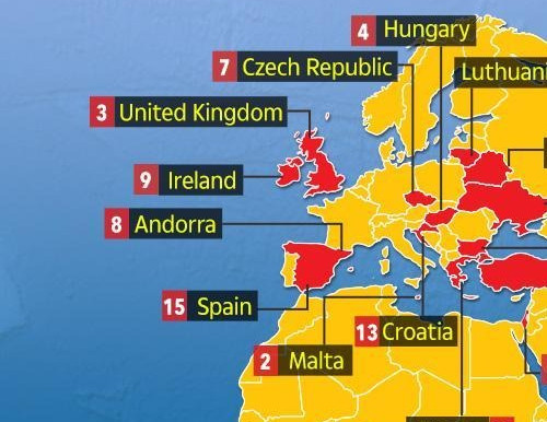 Covid-19 death rates 10 times higher in countries where most adults are overweight