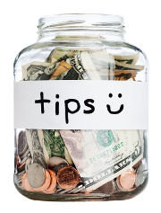 Appreciation tips