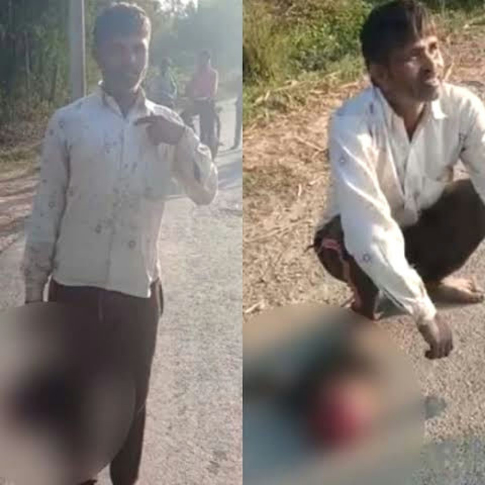 Man beheads daughter in UP India