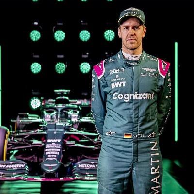 Aston Martin driver Sebastian Vettel