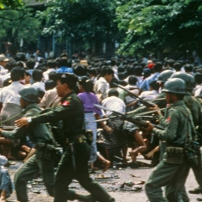 military coup in Burma