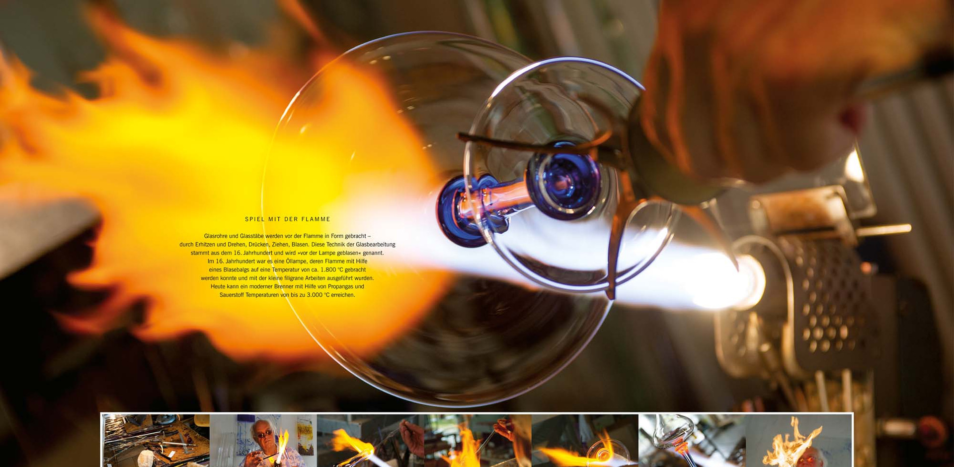Spiel mit der Flamme